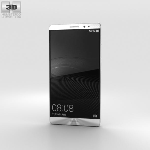 Huawei Mate 8 Moonlight Silver - 3DOcean Item for Sale