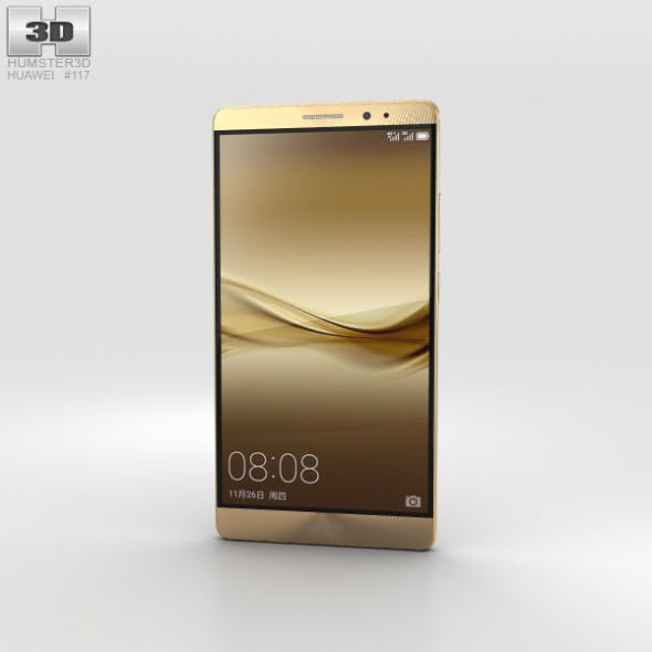 Huawei Mate 8 Champagne Gold - 3DOcean Item for Sale