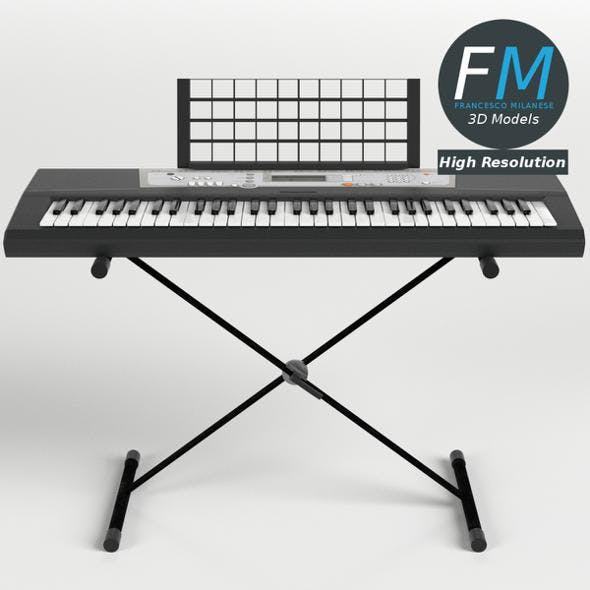 Electronic Piano Keyboard on Stand