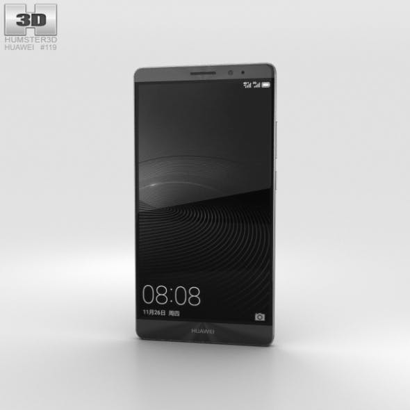 Huawei Mate 8 Space Gray - 3DOcean Item for Sale