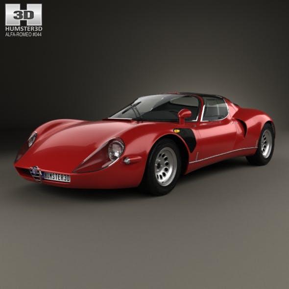 Alfa Romeo 33 Stradale 1967 - 3DOcean Item for Sale