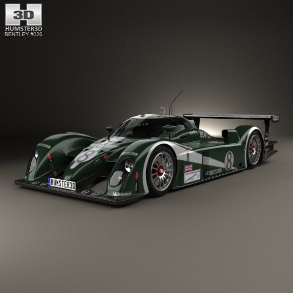 Bentley Speed 8 2003 - 3DOcean Item for Sale