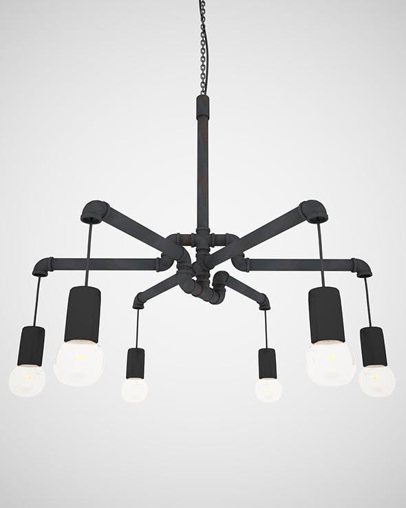 Pendant Light L01 - 3DOcean Item for Sale