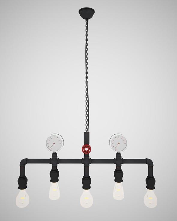 Pendant Light L02 - 3DOcean Item for Sale