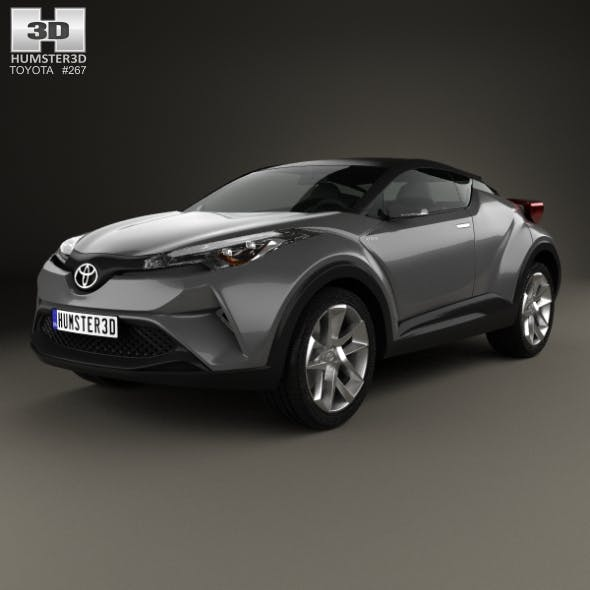 Toyota C-HR Concept 2016 - 3DOcean Item for Sale
