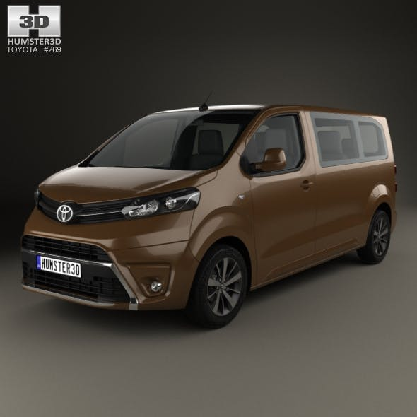 Toyota Proace 2016 - 3DOcean Item for Sale