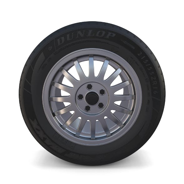 Generic Alloy Wheel - 3DOcean Item for Sale