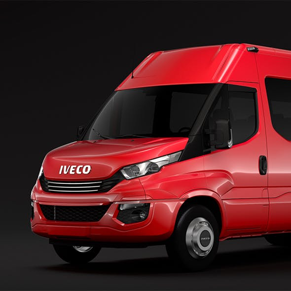 Iveco Daily Tourus L5H2 2017 - 3DOcean Item for Sale