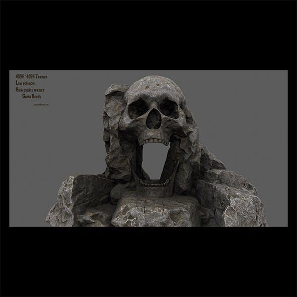skull cave 1 - 3DOcean Item for Sale