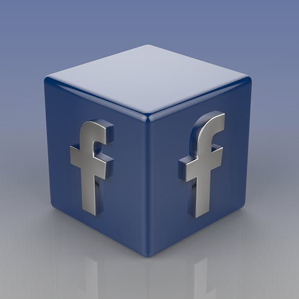 Facebook Logo - 3DOcean Item for Sale