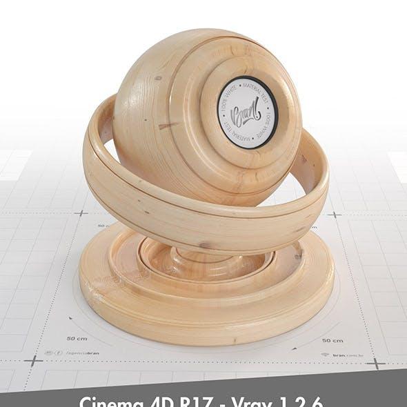 Fine Wood Material Nº 001  - C4D R17 / Vray 1.2.6