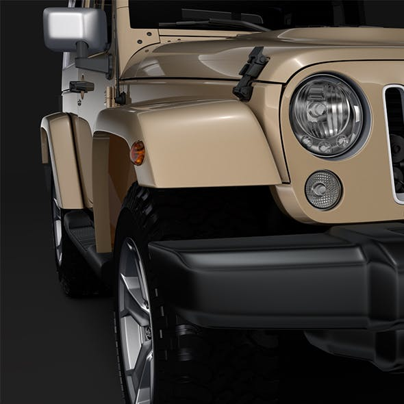 Jeep Wrangler Chief JK 2017 - 3DOcean Item for Sale