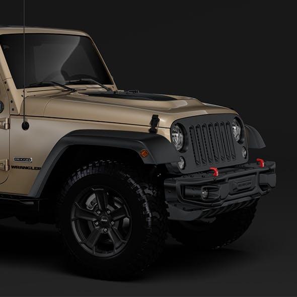 Jeep Wrangler Rubicon Recon JK 2017 - 3DOcean Item for Sale