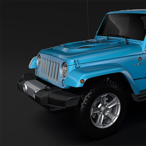 Jeep Wrangler Unlimited Chief JK 2017 - 3DOcean Item for Sale