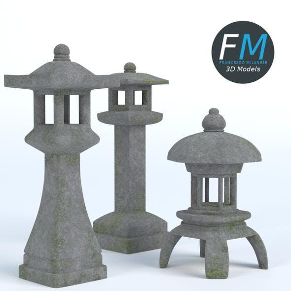 Japanese Toro Lanterns