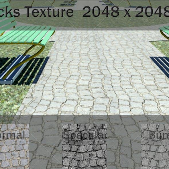 Ground Paving Texture