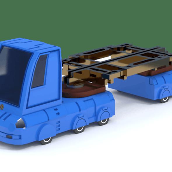 Sci-fi Toy Truck