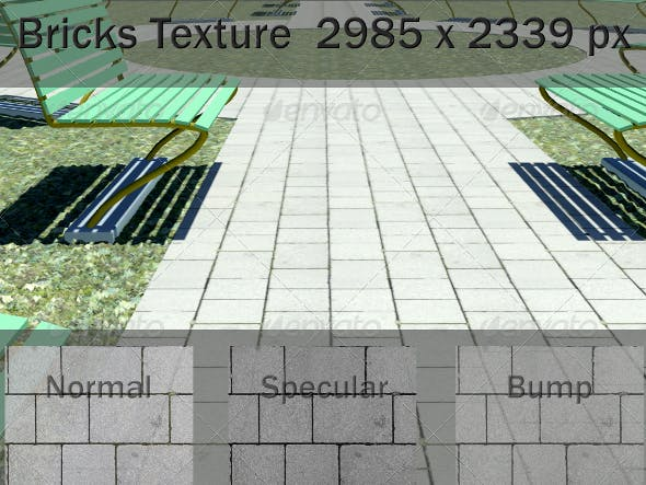 Ground Paving Texture - 3DOcean Item for Sale