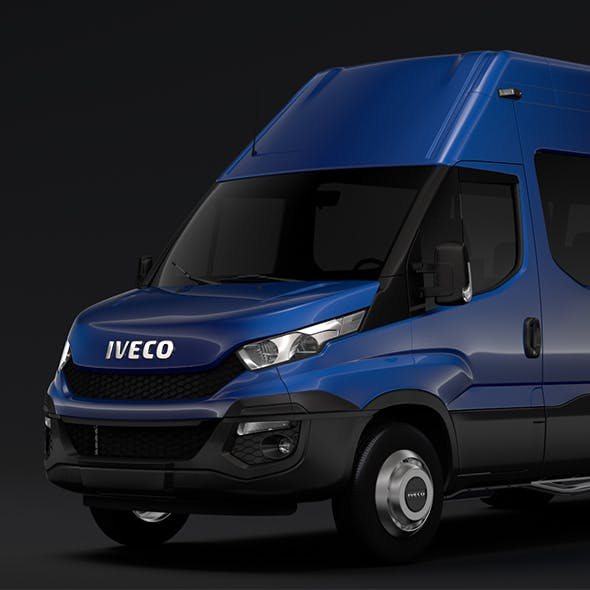 Iveco Daily Minibus L3H3 2014 2016 - 3DOcean Item for Sale