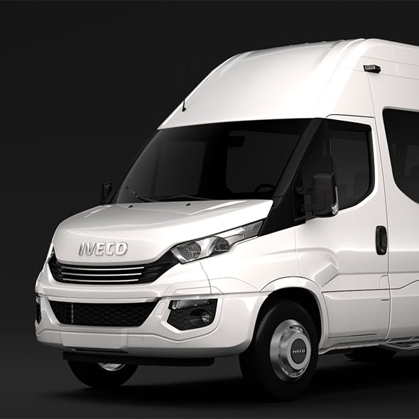Iveco Daily Minibus L3H3 2017 - 3DOcean Item for Sale