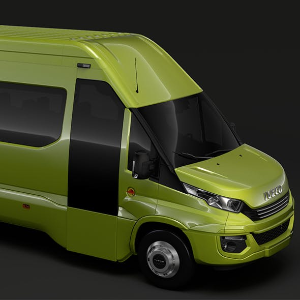 Iveco Daily Tourus L4H3 2017 - 3DOcean Item for Sale