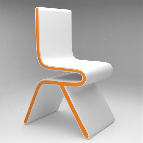 Futuristic Chair - 3DOcean Item for Sale