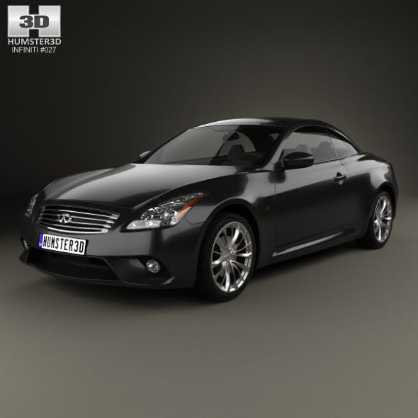 Infiniti Q60 S convertible 2014 - 3DOcean Item for Sale