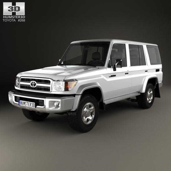 Toyota Land Cruiser 2007 - 3DOcean Item for Sale