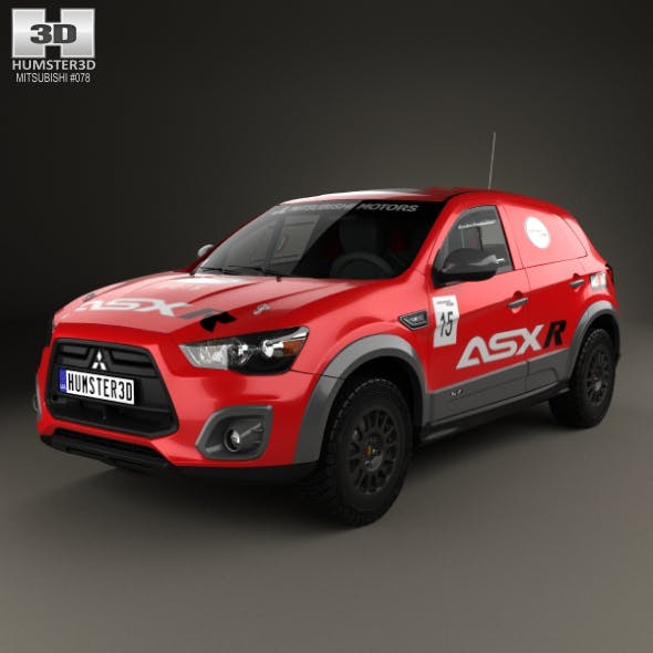 Mitsubishi ASX R 2015 - 3DOcean Item for Sale