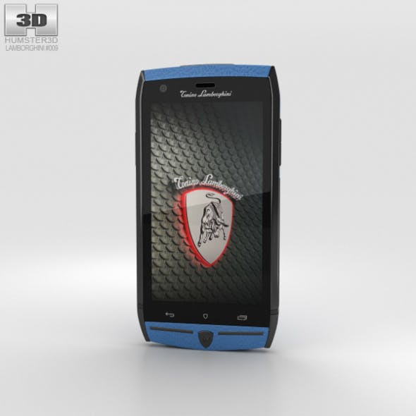Tonino Lamborghini 88 Blue - 3DOcean Item for Sale