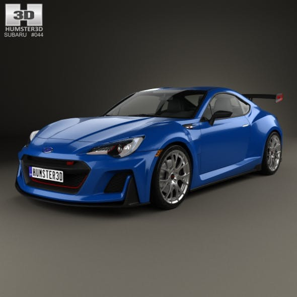 Subaru BRZ STI Performance concept 2015 - 3DOcean Item for Sale
