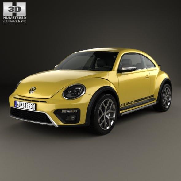 Volkswagen Beetle Dune 2016 - 3DOcean Item for Sale