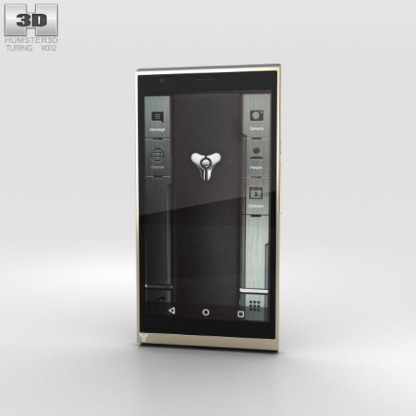 Turing Phone Beowulf - 3DOcean Item for Sale