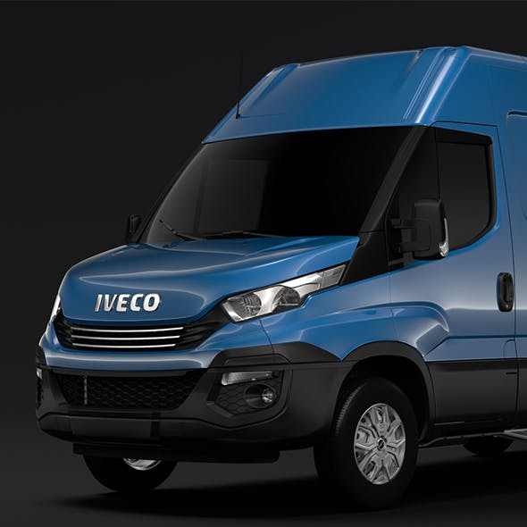Iveco Daily Van L3H2 2017 - 3DOcean Item for Sale
