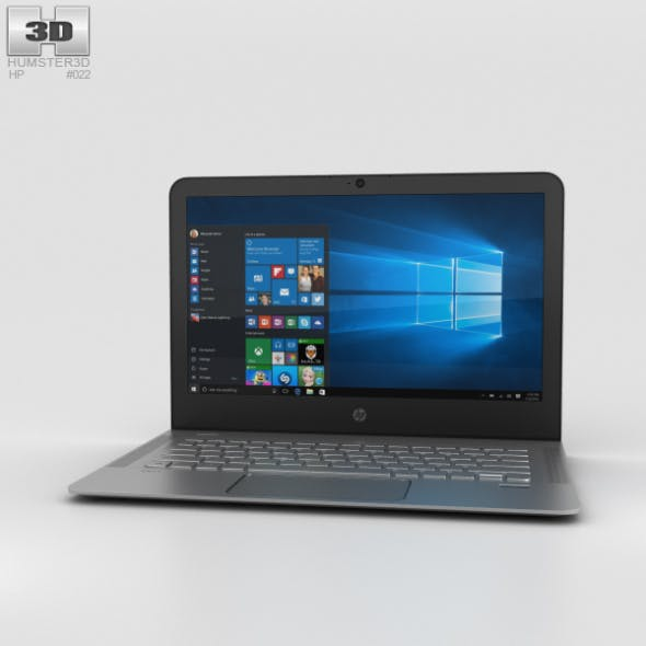 HP Envy 13t (2015) - 3DOcean Item for Sale