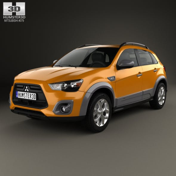 Mitsubishi ASX Outdoor 2015 - 3DOcean Item for Sale
