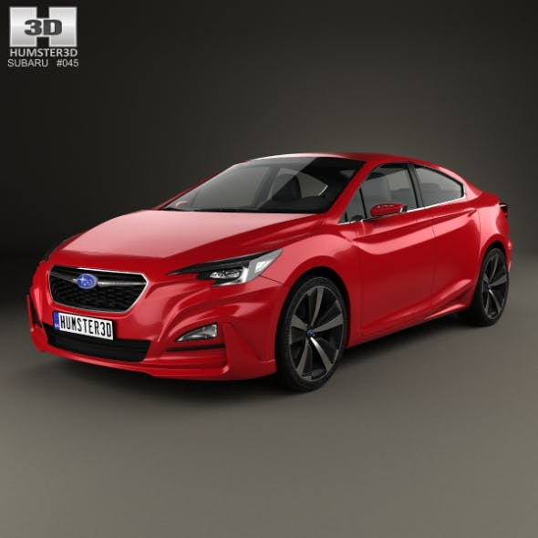 Subaru Impreza Sedan Concept 2015 - 3DOcean Item for Sale