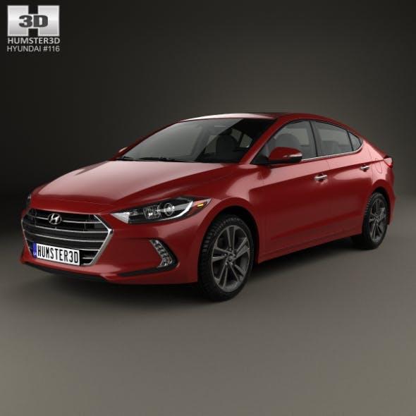 Hyundai Elantra 2017 - 3DOcean Item for Sale