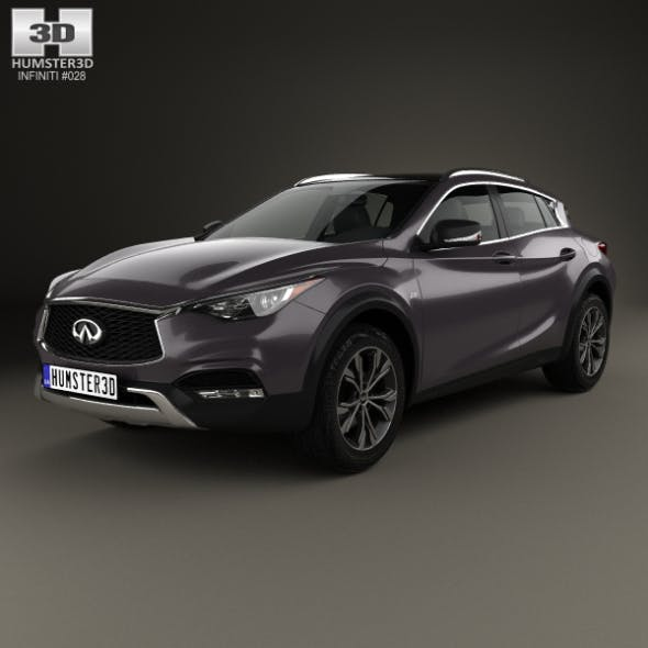 Infiniti QX30 2017 - 3DOcean Item for Sale