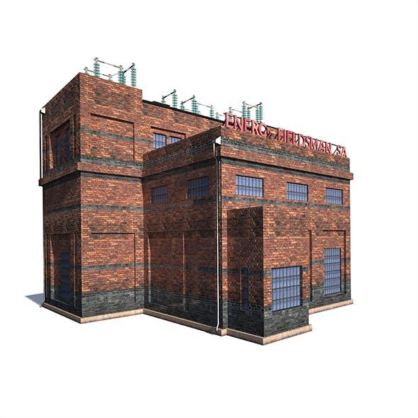 High Voltage Factory - 3DOcean Item for Sale