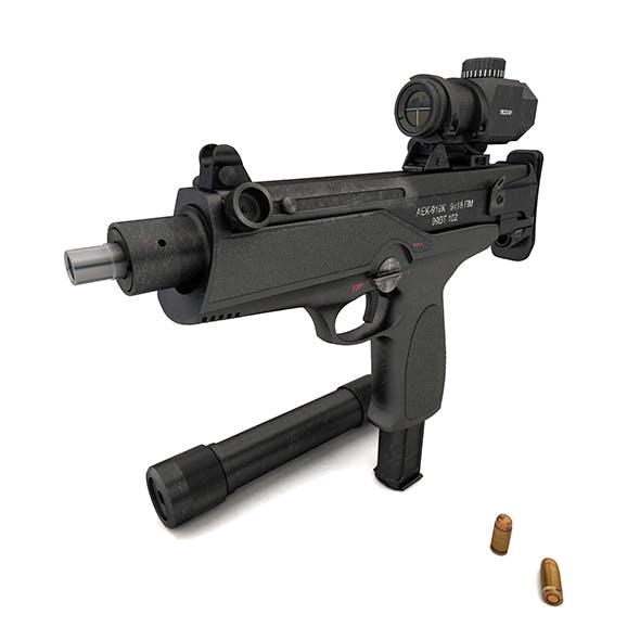 """submachine gun AEK-919K """"Kashtan"""""""