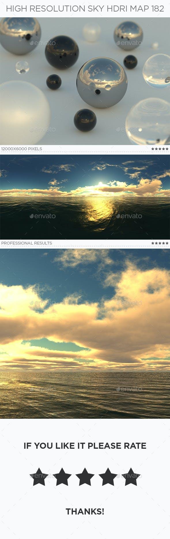 High Resolution Sky HDRi Map 182 - 3DOcean Item for Sale