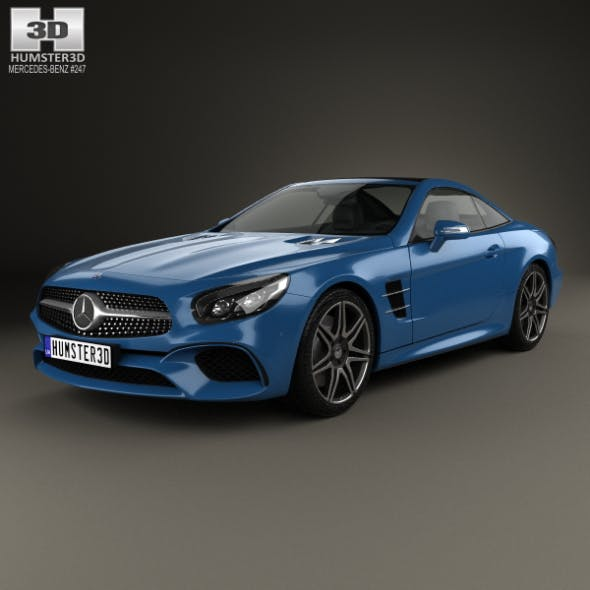 Mercedes-Benz SL-Class (R231) 2015 - 3DOcean Item for Sale