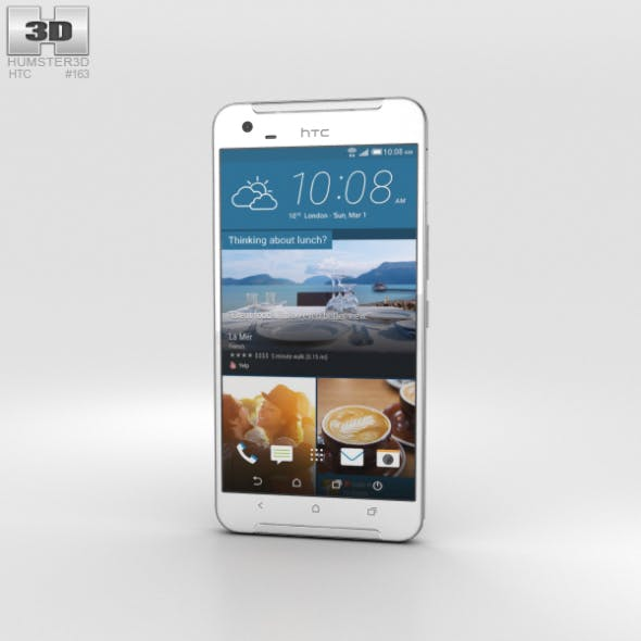 HTC One X9 White - 3DOcean Item for Sale