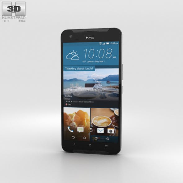 HTC One X9 Black - 3DOcean Item for Sale