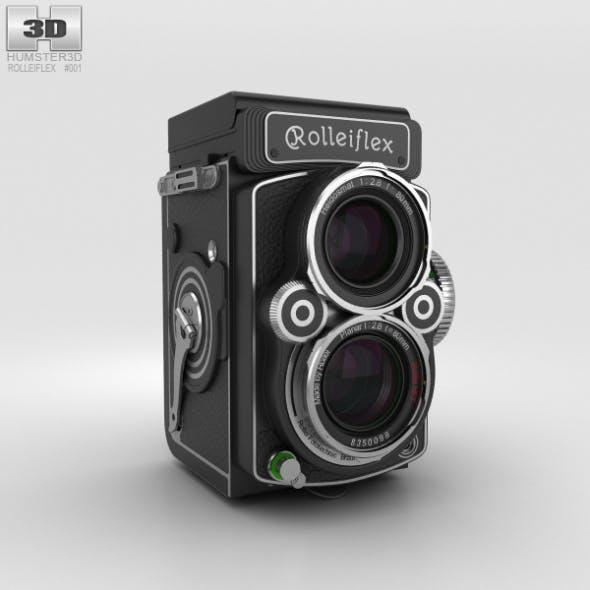 Rolleiflex 2.8 FX - 3DOcean Item for Sale