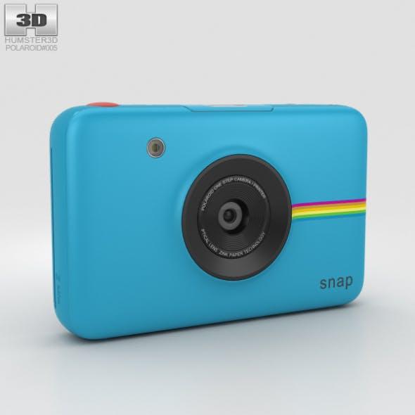 Polaroid Snap Instant Digital Camera Blue - 3DOcean Item for Sale