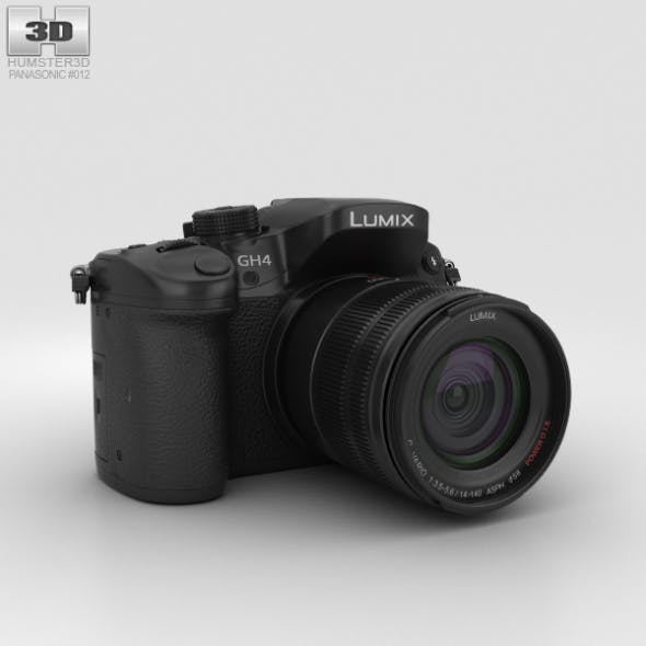 Panasonic Lumix DMC-GH4 - 3DOcean Item for Sale