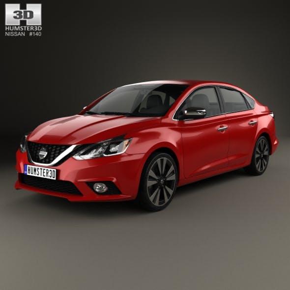 Nissan Sentra SL 2016 - 3DOcean Item for Sale