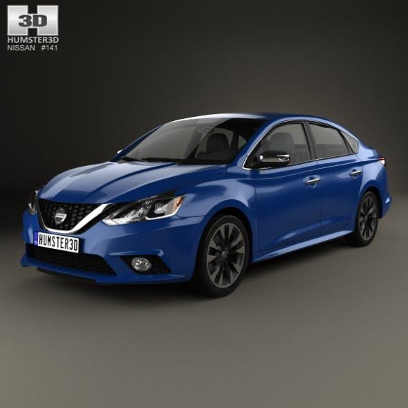 Nissan Sentra SR 2016 - 3DOcean Item for Sale